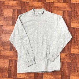 Vintage Nike Mock Neck Shirt